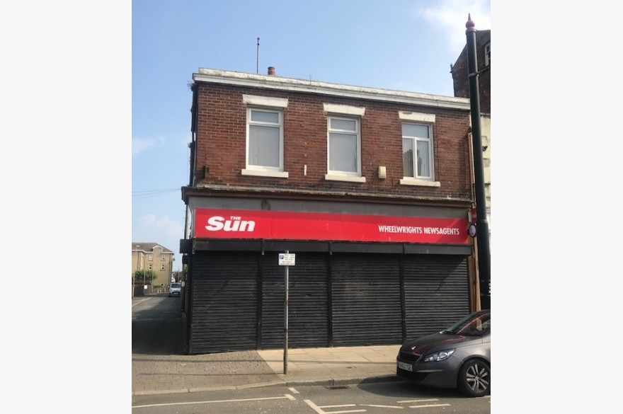 Empty Shop & Flat/house Retail Freehold For Sale - Image 1